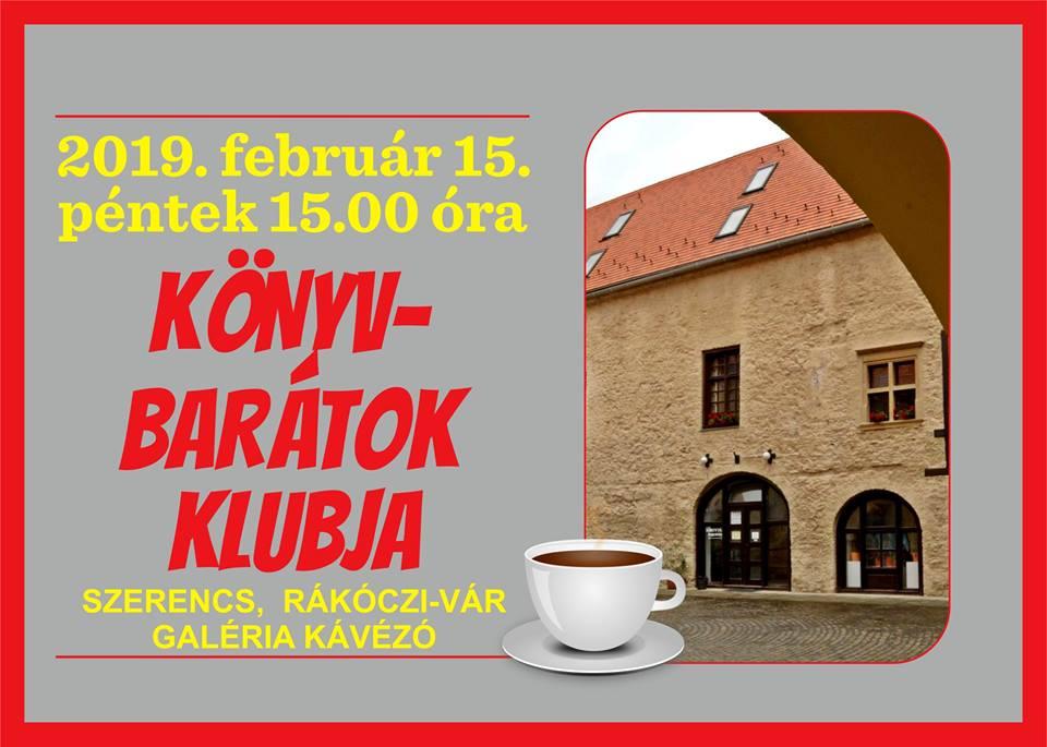 Könyvbarátok Klubja 2019.02.15.