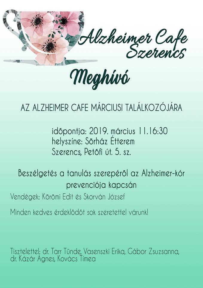 Alzheimer Café 2019.03.11.