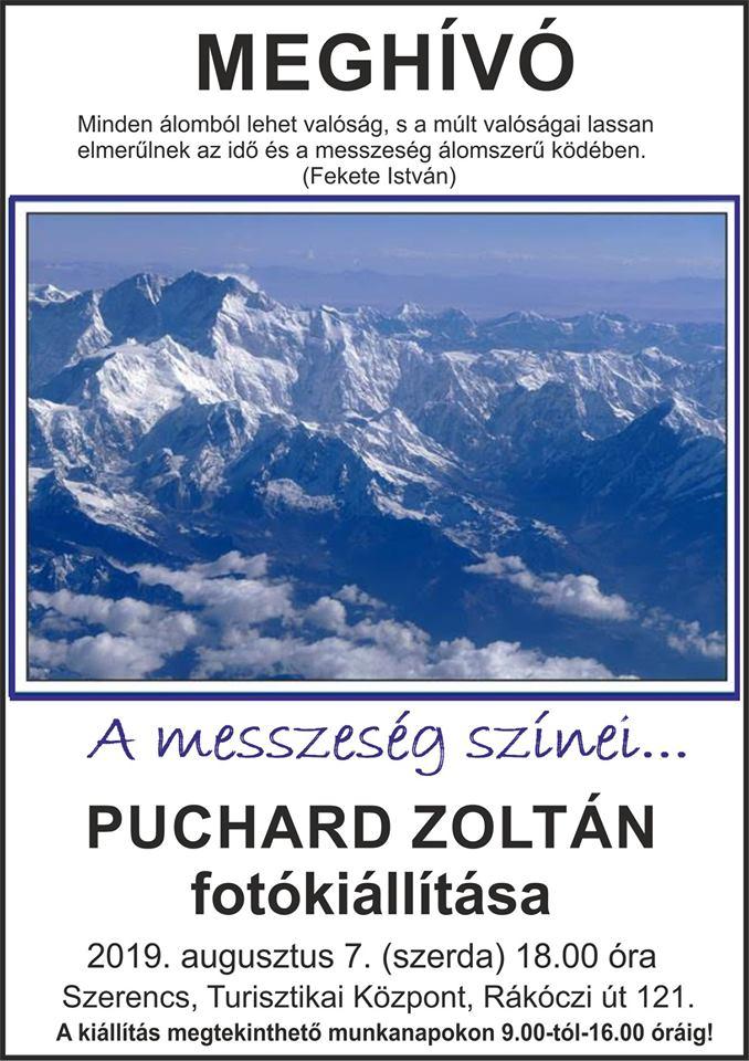 Puchard Zoltán fotókiállítás