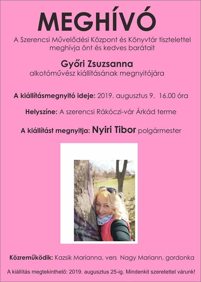 Győri Zsuzsanna kiállítása